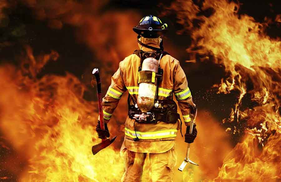 آشنایی با اصول آتش نشانی - ( ستاد)